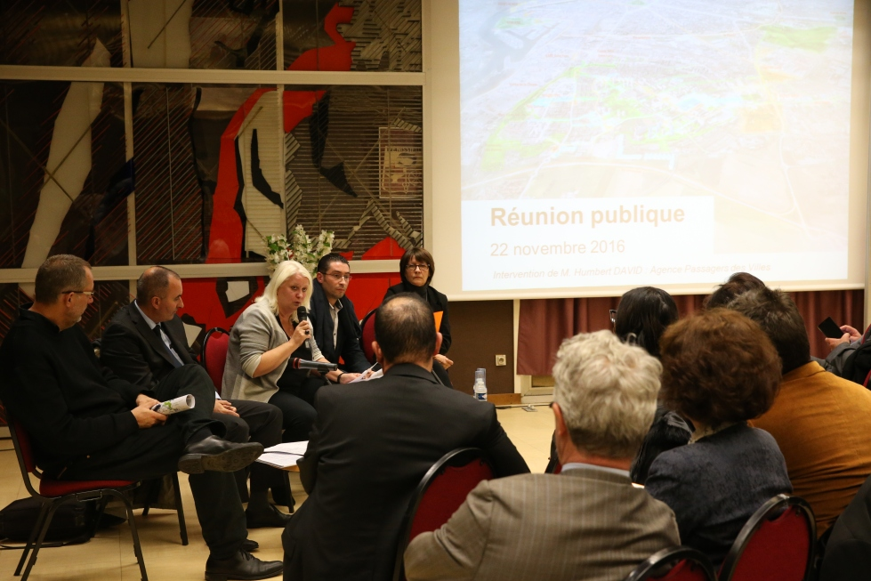 Avec Michel Le Faou et Michèle Picard ©Yves Ricard/Mairie de Vénissieux